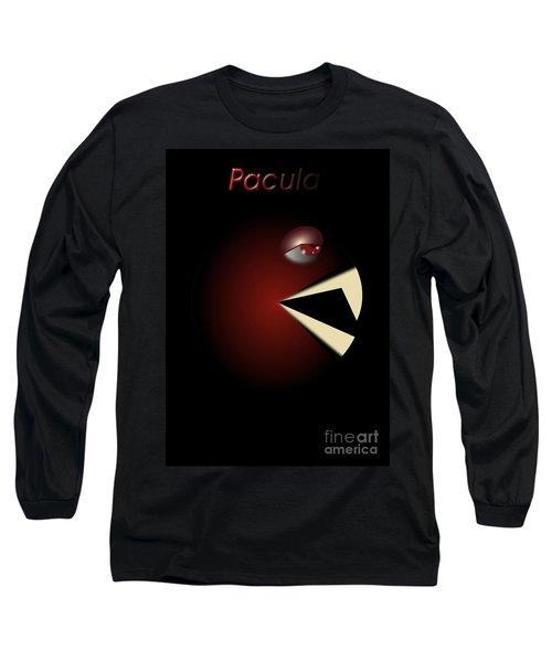 Long Sleeve T-Shirt featuring the digital art Pacula by R Muirhead Art