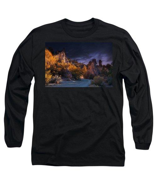 Pahrump - Road To Wheeler Peak Long Sleeve T-Shirt