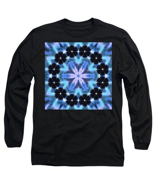 Painted Cymatics 108.00hz Long Sleeve T-Shirt