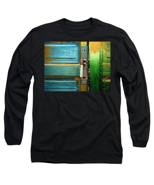 Painted Doors Long Sleeve T-Shirt
