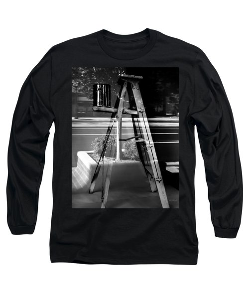 Painted Illusions - Abstract Long Sleeve T-Shirt