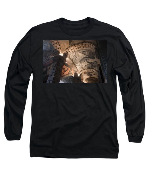 Long Sleeve T-Shirt featuring the photograph Painted Vaults by Lynn Palmer