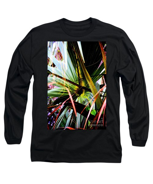 Palm Through The Fronds Long Sleeve T-Shirt