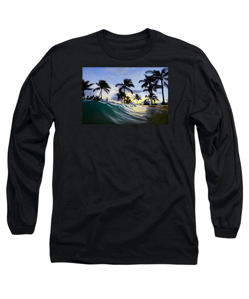 Palm Wave Long Sleeve T-Shirt