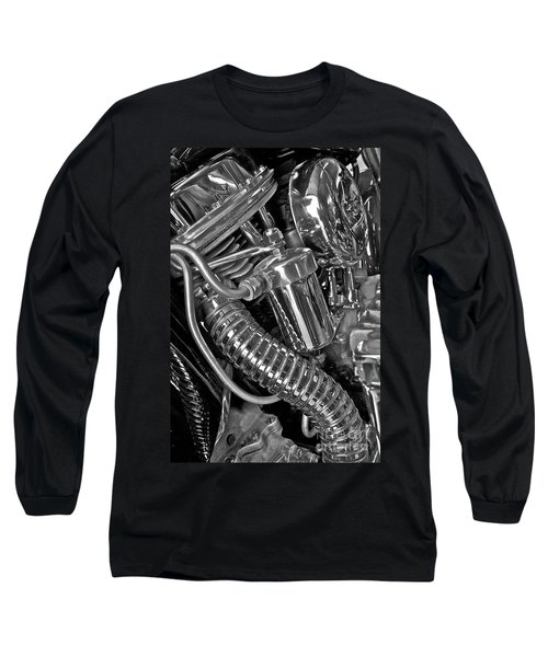Panhead Poetry Long Sleeve T-Shirt by Linda Bianic