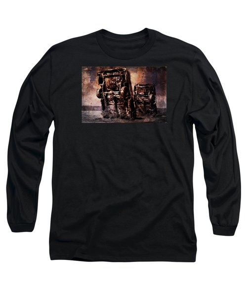 Panic Break Long Sleeve T-Shirt by Randi Grace Nilsberg
