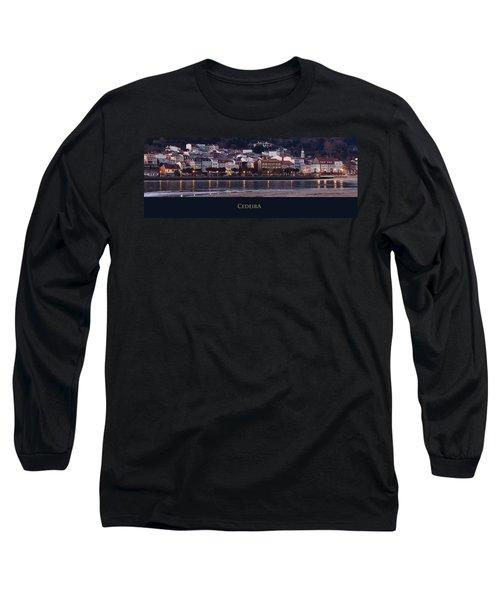 Panorama Of Cedeira Galicia Spain Long Sleeve T-Shirt