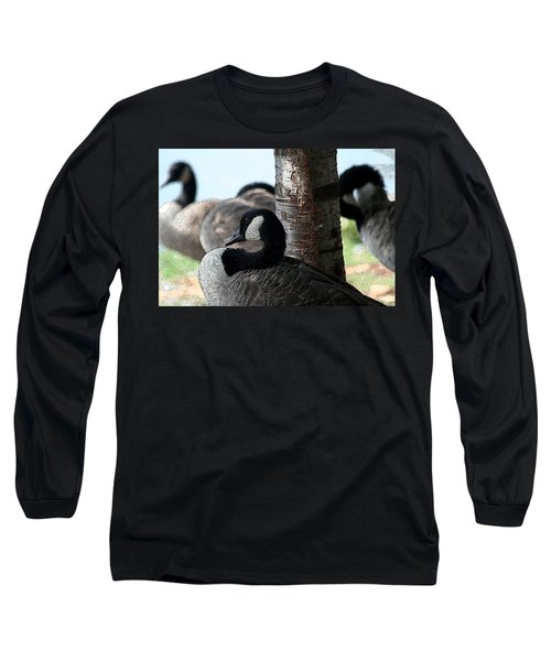 Long Sleeve T-Shirt featuring the photograph Pap Daddy Big Spring Park by Lesa Fine