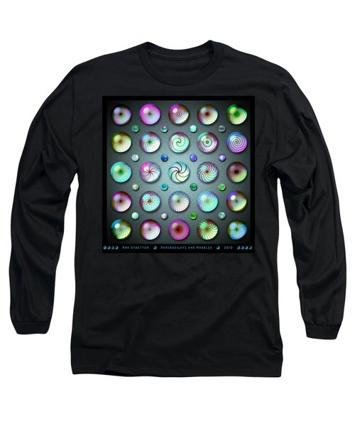 Paperweights And Marbles Long Sleeve T-Shirt