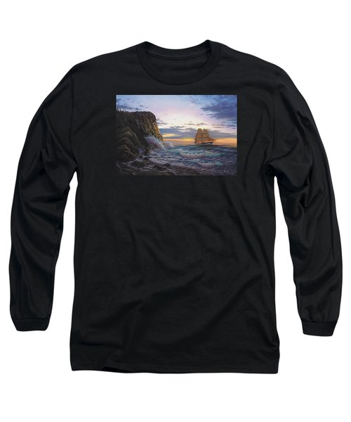 Paradise Cove And The Lightning  Long Sleeve T-Shirt