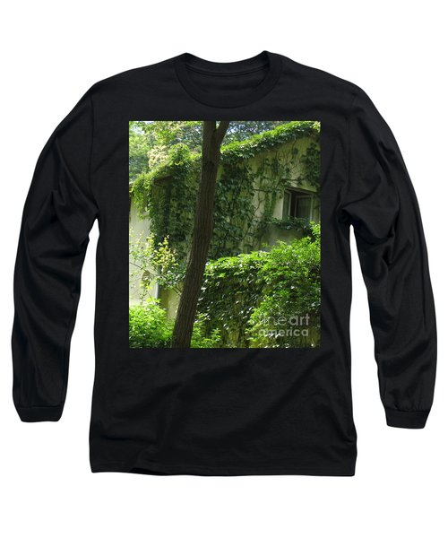 Paris - Green House Long Sleeve T-Shirt