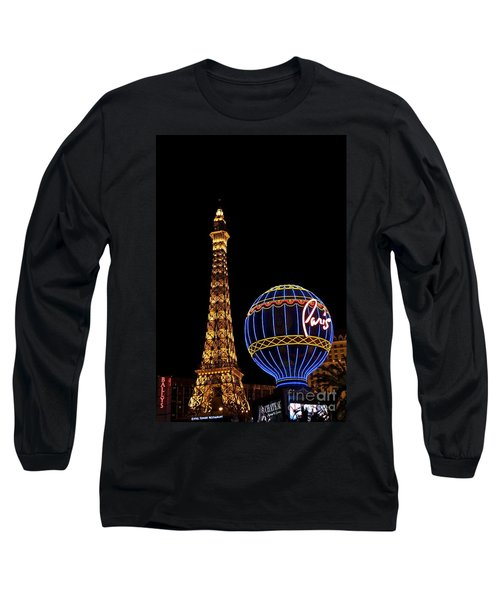 Paris In Vegas Long Sleeve T-Shirt