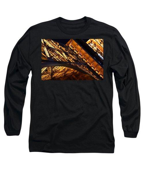 Paris Las Vegas Eiffel Tower Long Sleeve T-Shirt