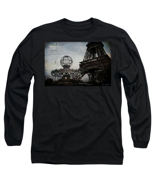 Paris One More Ride Long Sleeve T-Shirt