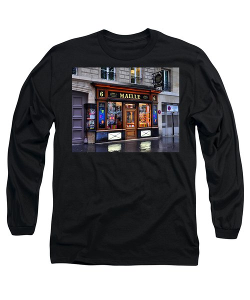 Paris Shop Long Sleeve T-Shirt