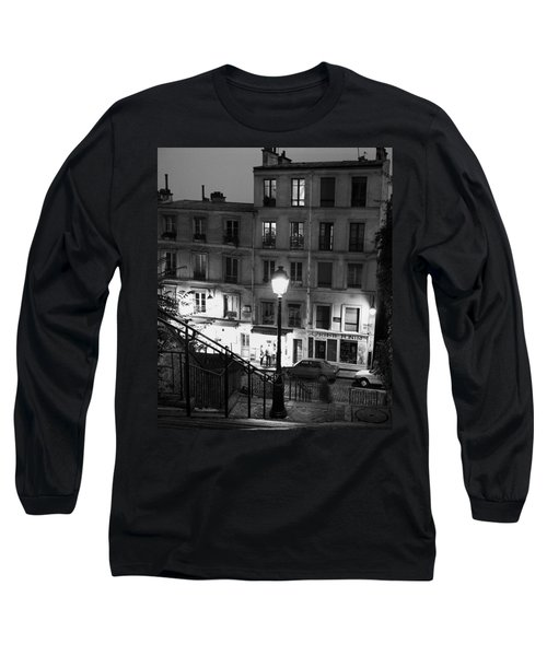 Paris-steps-montmartre Long Sleeve T-Shirt