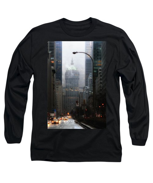 Park Avenue Dawn In Color Long Sleeve T-Shirt