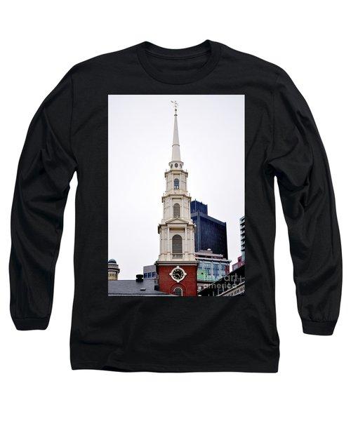 Park Street Church Boston Massachusetts Long Sleeve T-Shirt
