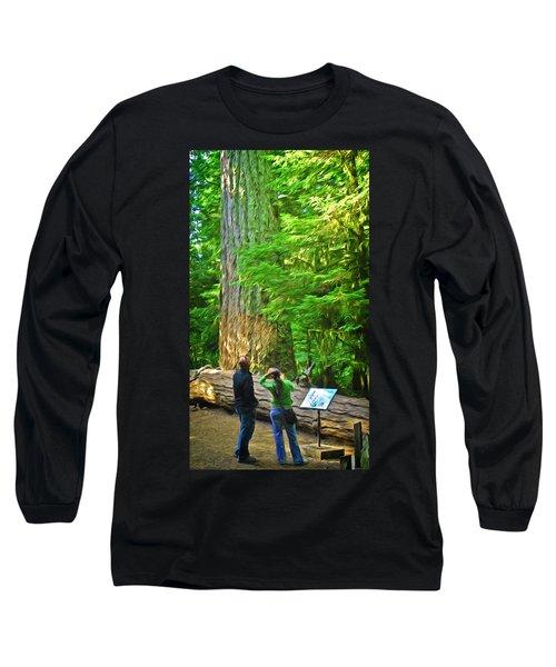 Park Visitors Long Sleeve T-Shirt