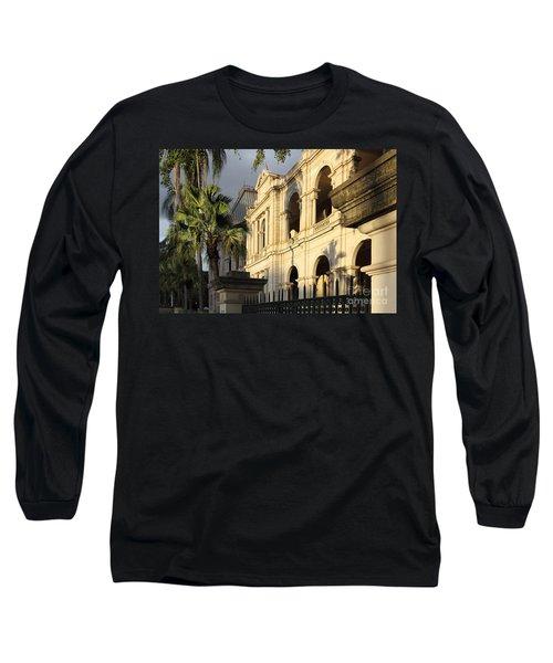 Parlament House In Brisbane Australia Long Sleeve T-Shirt