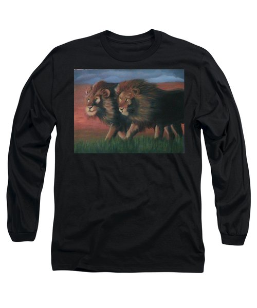 Partners Long Sleeve T-Shirt by Catherine Swerediuk