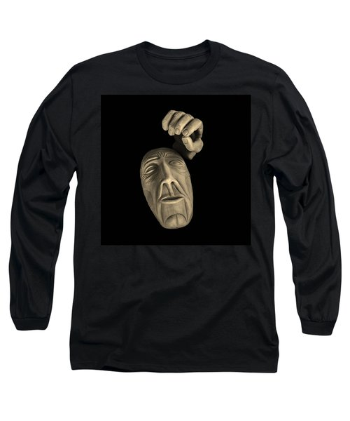 Long Sleeve T-Shirt featuring the sculpture Parts Of The Whole by Barbara St Jean
