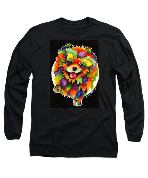 Party Pom Long Sleeve T-Shirt by Sherry Shipley