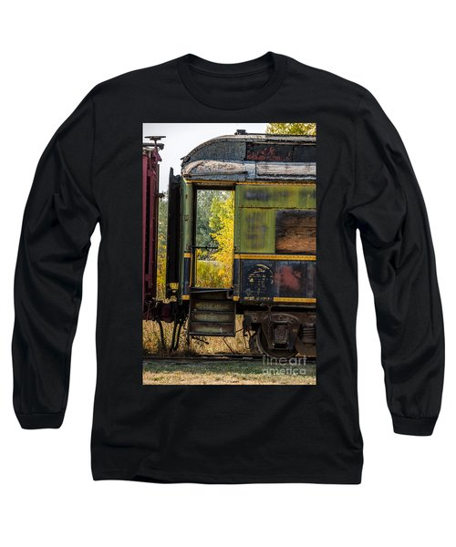 Passenger Car Entrance Long Sleeve T-Shirt