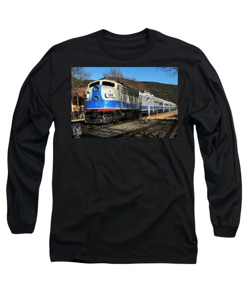 Long Sleeve T-Shirt featuring the photograph Passenger Train by Michael Gordon