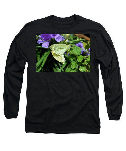 Passion Of The Butterflies Long Sleeve T-Shirt