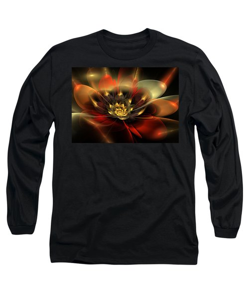Long Sleeve T-Shirt featuring the digital art Passion by Svetlana Nikolova