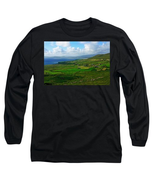 Patchwork Landscape Long Sleeve T-Shirt