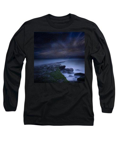 Path To Infinity Long Sleeve T-Shirt by Jorge Maia