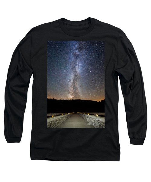 Path To Our Galaxy   Long Sleeve T-Shirt