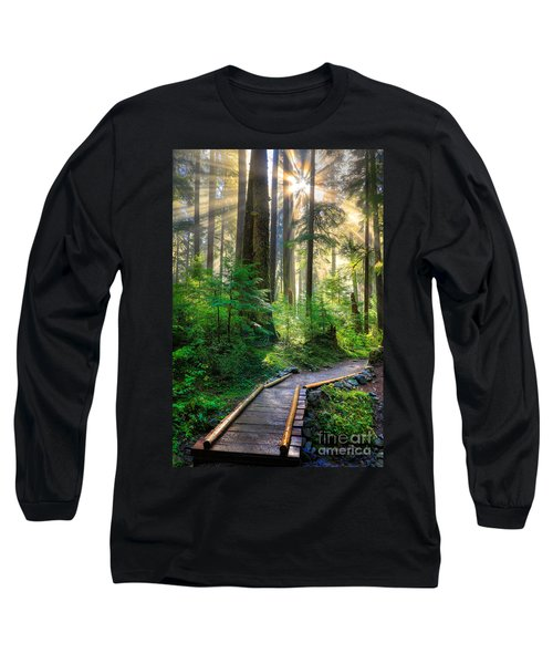 Pathway Into The Light Long Sleeve T-Shirt