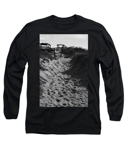 Pathway Through The Dunes Long Sleeve T-Shirt