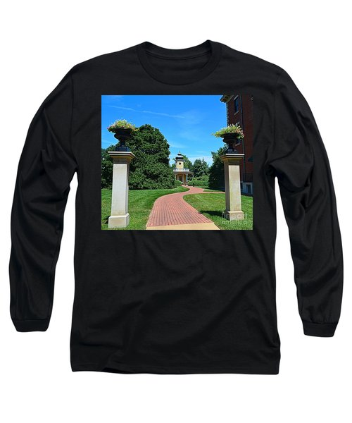 Pathway To The Observatory Long Sleeve T-Shirt by Luther Fine Art