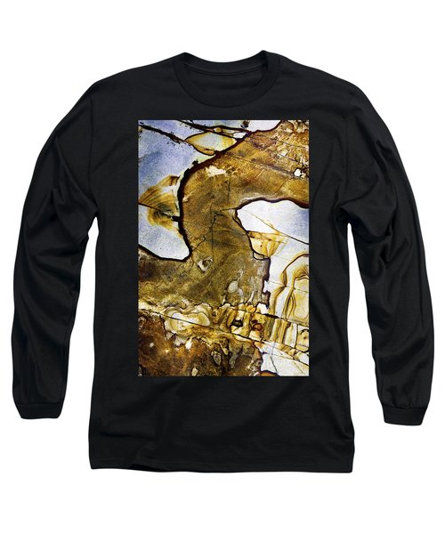 Patterns In Stone - 153 Long Sleeve T-Shirt