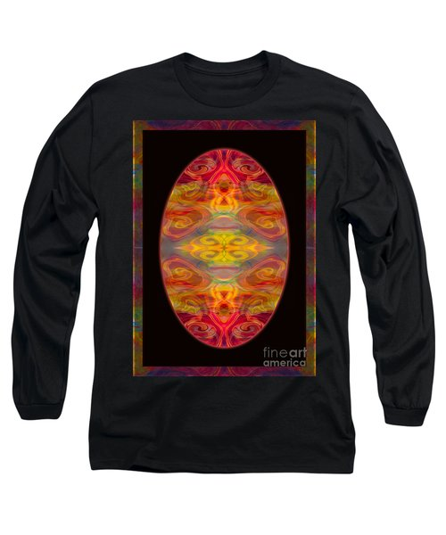 Peace And Harmony Abstract Healing Art Long Sleeve T-Shirt