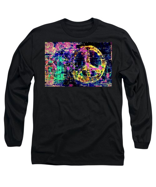 Long Sleeve T-Shirt featuring the photograph Peace Graffiti by Suzanne Stout