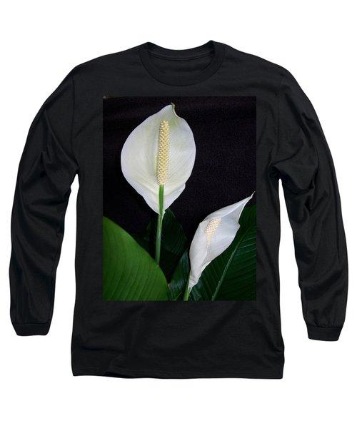 Peace Lilies Long Sleeve T-Shirt