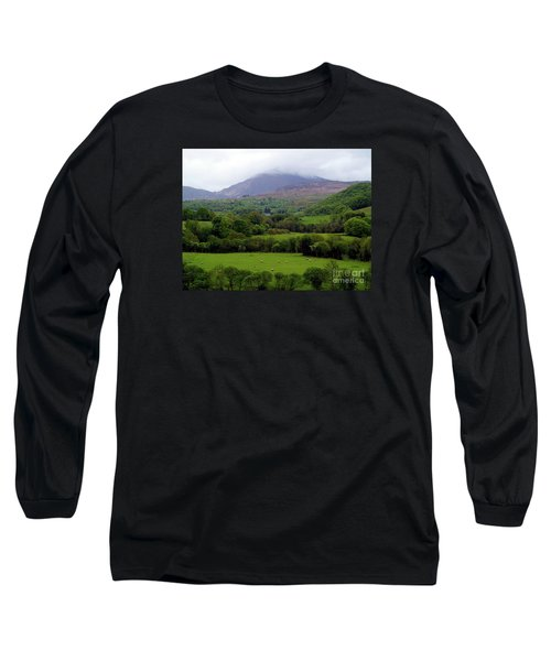 Peace On The Emerald Isle Long Sleeve T-Shirt by Patricia Griffin Brett