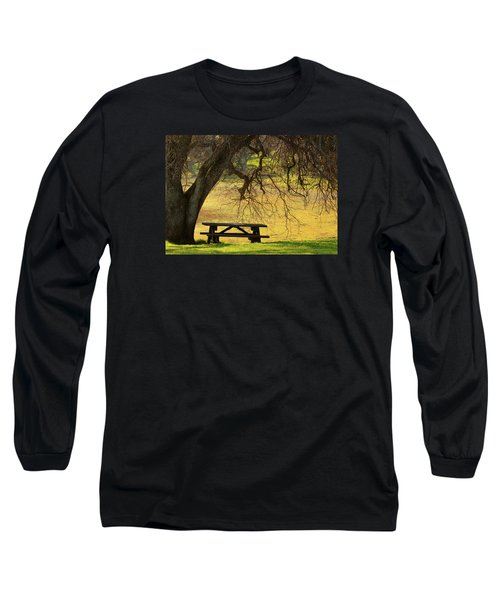 Long Sleeve T-Shirt featuring the photograph Peace  by Rima Biswas