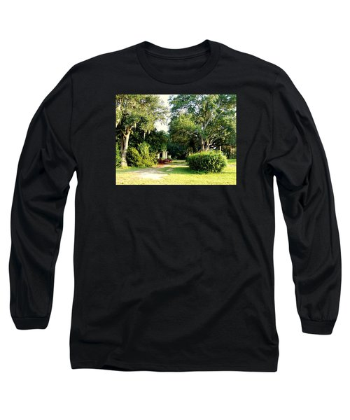 Peaceful Morning Long Sleeve T-Shirt by Catherine Gagne