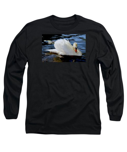 Peaceful Swan Long Sleeve T-Shirt