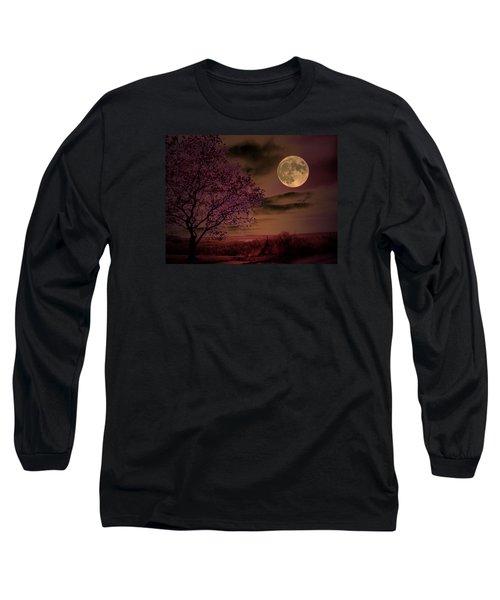 Peaceful Valley Long Sleeve T-Shirt by Robert McCubbin
