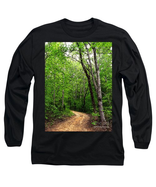 Peaceful Walk Long Sleeve T-Shirt by Lydia Holly