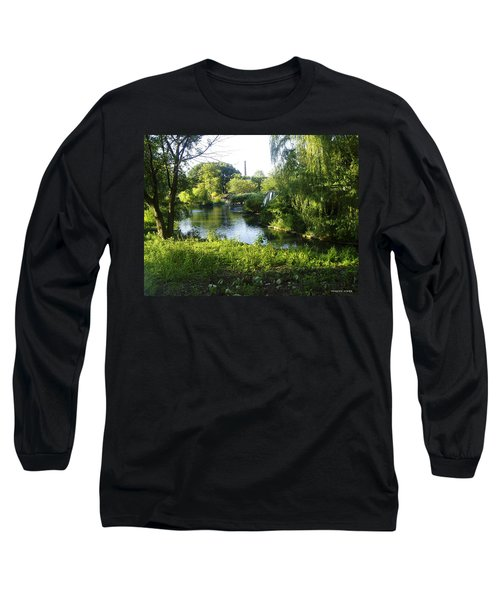 Peaceful Waters Long Sleeve T-Shirt by Verana Stark