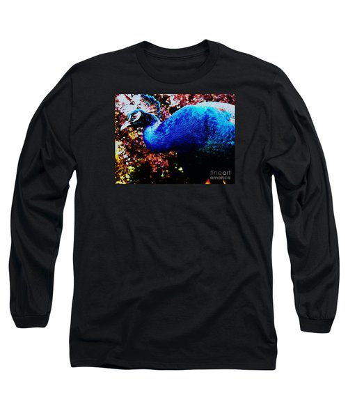 Peacock Profile Long Sleeve T-Shirt