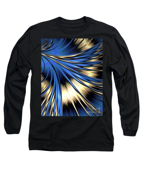 Peacock Tail Feather Long Sleeve T-Shirt